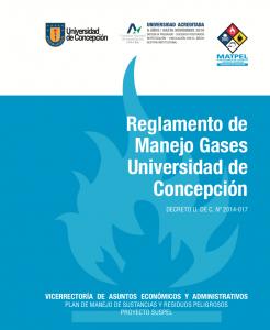 Reglamento de Manejo Gases UdeC