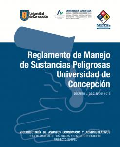 Reglamento de Manejo de Sustancias Peligrosas UdeC