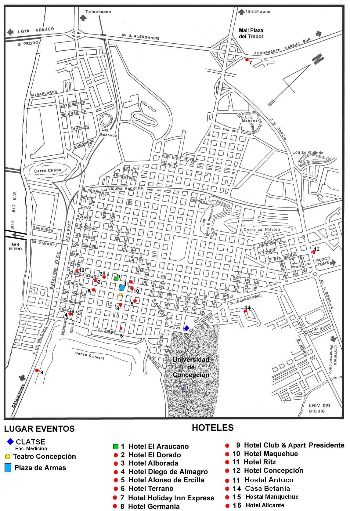 Image Result For Map Of Hotels